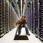 Einblick in ein Google Rechenzentrum / Data Center