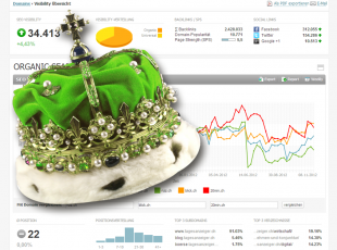 Data is King - Partnerschaft Idealizer AG und Searchmetrics GmbH